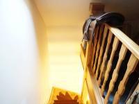 schodiště (Prodej domu v osobním vlastnictví 120 m², Kamenice)
