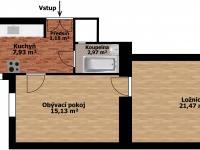 Prodej bytu 2+1 v osobním vlastnictví 52 m², Praha 7 - Holešovice