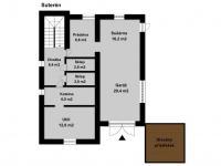 suterén (Prodej domu v osobním vlastnictví 213 m², Roztoky)