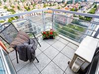 terasa 4m2 (Prodej bytu 2+kk v osobním vlastnictví 74 m², Praha 2 - Vinohrady)