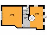 Pronájem kancelářských prostor 82 m², Černošice