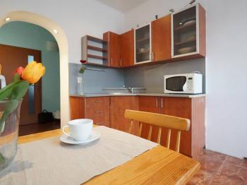 1. podlaží - kuchyňský kout  - Prodej domu v osobním vlastnictví 218 m², Praha 6 - Břevnov