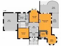 Prodej domu v osobním vlastnictví 836 m², Trnová