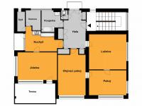 Pronájem bytu 4+1 v osobním vlastnictví 120 m², Praha 6 - Střešovice