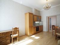 obývací pokoj s kuch. koutem - Pronájem bytu 2+kk v osobním vlastnictví 52 m², Praha 5 - Smíchov