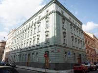 pohled na dům (Pronájem bytu 2+kk v osobním vlastnictví 52 m², Praha 5 - Smíchov)