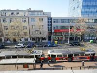 výhled z okna - Prodej bytu 2+kk v osobním vlastnictví 46 m², Praha 3 - Žižkov