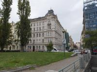 pohled na dům - Prodej bytu 2+1 v osobním vlastnictví 101 m², Praha 5 - Smíchov