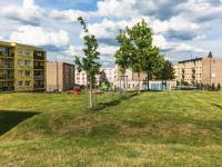 okolí domu - Prodej bytu 3+1 v družstevním vlastnictví 76 m², Mníšek pod Brdy