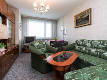 obývací pokoj - Prodej bytu 3+1 v družstevním vlastnictví 69 m², Praha 4 - Chodov