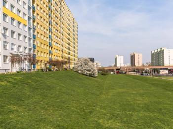 pohled na dům - Prodej bytu 3+1 v družstevním vlastnictví 69 m², Praha 4 - Chodov