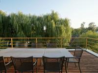 výhled z terasy ve 3.NP - Prodej domu v osobním vlastnictví 220 m², Praha 10 - Kolovraty