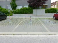 park. stání před domem - Pronájem bytu 2+kk v osobním vlastnictví 47 m², Odolena Voda