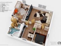 Prodej bytu 3+1 v osobním vlastnictví 92 m², Tisem
