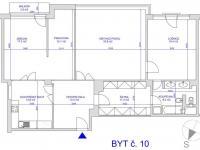 Pronájem bytu 4+1 v osobním vlastnictví 132 m², Praha 6 - Bubeneč
