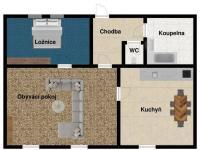 Pronájem bytu 2+1 v osobním vlastnictví 91 m², Praha 5 - Zbraslav
