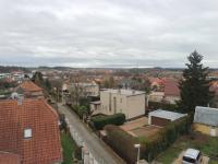 Pohled z balkonu (Pronájem bytu 3+kk v osobním vlastnictví 76 m², Dolní Břežany)