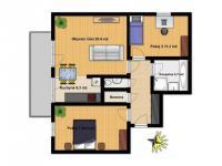 Pronájem bytu 3+kk v osobním vlastnictví 76 m², Dolní Břežany