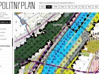 nový metropolitní plán (Prodej pozemku 2811 m², Praha 4 - Braník)