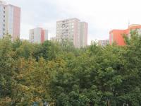 Výhled z lodžie - Pronájem bytu 3+1 v osobním vlastnictví 77 m², Praha 5 - Hlubočepy