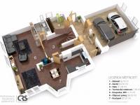 Podkroví - Prodej domu v osobním vlastnictví 223 m², Libeř
