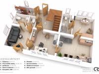 Dům A přízemí - Prodej domu v osobním vlastnictví 241 m², Psáry