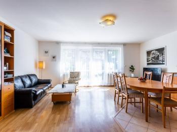 Obývací pokoj - Prodej bytu 6+kk v osobním vlastnictví 214 m², Dolní Břežany
