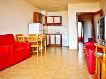 kuchyňský kout obývák - Prodej bytu 2+kk v osobním vlastnictví 58 m², Ravda