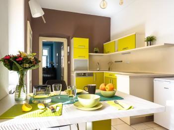 Pronájem bytu 1+1 v osobním vlastnictví, 45 m2, Praha 1 - Nové Město