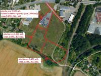 parcelace (Prodej pozemku 20717 m², Pardubice)