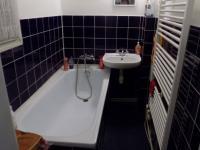 Koupelna (Prodej bytu 2+kk v osobním vlastnictví 39 m², Praha 10 - Vršovice)