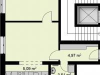 Prodej bytu 2+kk v osobním vlastnictví 44 m², Chrudim