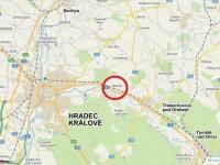 Poloha u Hradce Králové (Pronájem komerčního objektu 4652 m², Blešno)