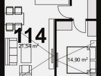 Prodej bytu 2+kk v osobním vlastnictví 55 m², Chrudim