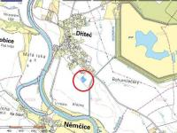 Prodej pozemku 6004 m², Dříteč