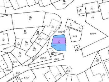 Prodej pozemku 223 m², Věstín