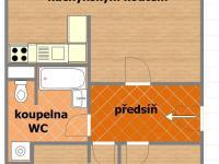 Pronájem bytu 3+kk v družstevním vlastnictví 63 m², Praha 4 - Krč
