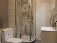 koupelna (Prodej bytu 2+kk v osobním vlastnictví 38 m², Praha 9 - Vysočany)