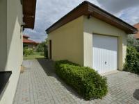 Zděná garáž (Prodej domu v osobním vlastnictví 115 m², Zdiby)