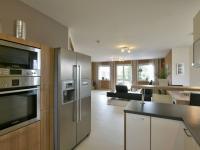 Obývací prostor (Prodej domu v osobním vlastnictví 160 m², Postřižín)