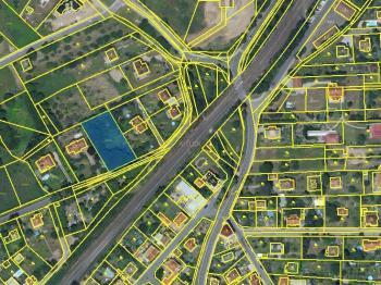 umístění pozemku - Prodej pozemku 1816 m², Černošice