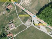 Čerpací stanice Halámky + pozemek - Prodej komerčního objektu 10785 m², Halámky