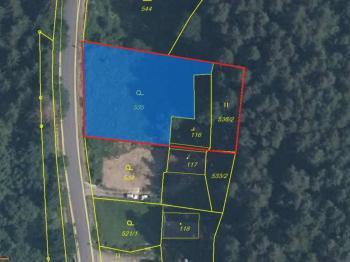 Prodej pozemku 443 m², České Budějovice