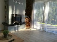 krb v obýváku (Prodej domu v osobním vlastnictví 160 m², Frymburk)