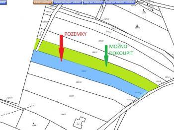 katastrální mapa - Prodej pozemku 3375 m², Heřmaň
