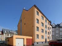 dům ze dvora (Prodej bytu 3+kk v osobním vlastnictví 77 m², České Budějovice)