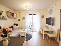 pokoj s kuchyňským koutem (Prodej bytu 3+kk v osobním vlastnictví 59 m², České Budějovice)