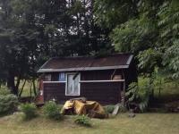 zahradní altán (Prodej pozemku 741 m², Omlenice)