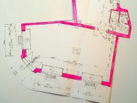 plánek (Pronájem obchodních prostor 60 m², České Budějovice)