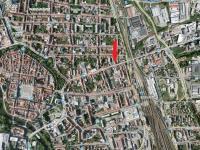 mapa (Pronájem obchodních prostor 60 m², České Budějovice)
